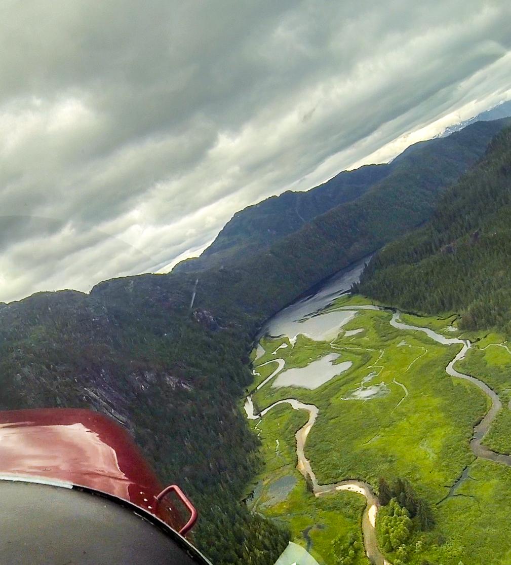 Manzenita Lake in Alaska