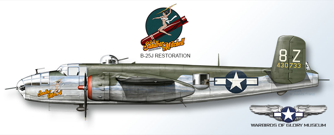 A mock-up of what Sandbar Mitchell will look like fully restored